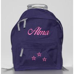 Lilla junior taske med navn på